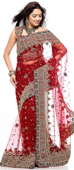 Wholesale embroidery saree